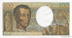 200 Francs MONTESQUIEU FRANCE  1986 F.70.06 pr.NEUF