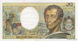 200 Francs MONTESQUIEU FRANCE  1989 F.70.09 TTB+