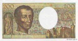 200 Francs MONTESQUIEU FRANCE  1992 F.70.12a pr.NEUF