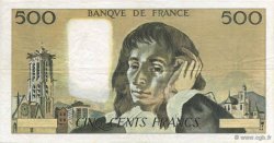 500 Francs PASCAL FRANCE  1968 F.71.00 TTB à SUP