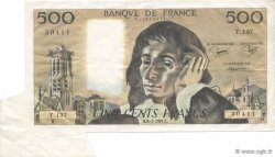 500 Francs PASCAL FRANCE  1981 F.71.23 pr.SUP