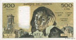 500 Francs PASCAL FRANCE  1985 F.71.33 pr.SUP