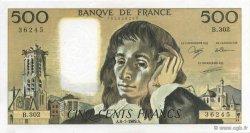 500 Francs PASCAL FRANCE  1989 F.71.42 pr.SPL
