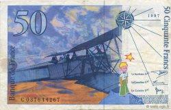 50 Francs SAINT-EXUPÉRY Modifié FRANCE  1997 F.73.04 TTB+