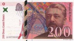 200 Francs EIFFEL FRANCE  1996 F.75.03a NEUF