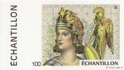 100 Francs FRANCE régionalisme et divers  1990  NEUF