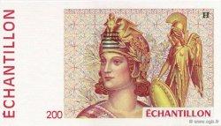 200 Francs FRANCE régionalisme et divers  1990  NEUF