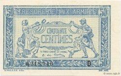 50 Centimes TRÉSORERIE AUX ARMÉES FRANCE  1917 VF.01.04 NEUF