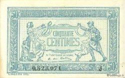 50 Centimes TRÉSORERIE AUX ARMÉES FRANCE  1917 VF.01.10 SPL