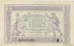 2 Francs FRANCE  1917 VF.05.02 SPL