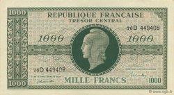 1000 Francs MARIANNE chiffres maigres FRANCE  1945 VF.13.01 pr.NEUF