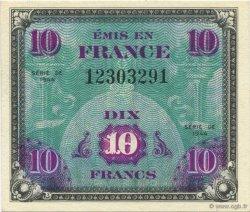 10 Francs DRAPEAU FRANCE  1944 VF.18.01 NEUF