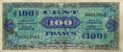 100 Francs DRAPEAU FRANCE  1944 VF.20.02 TTB