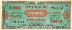 1000 Francs FRANCE FRANCE  1945 VF.27.02 SUP