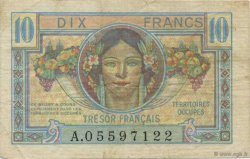 10 Francs TRÉSOR FRANCAIS FRANCE  1947 VF.30.01