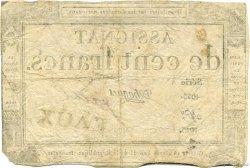 100 Francs FRANCE  1795 Laf.173x TB+