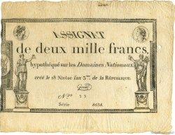 2000 Francs FRANCE  1795 Laf.176 TTB