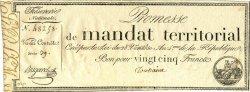 25 Francs avec Série FRANCE  1796 Laf.200 SPL
