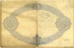 50 Francs 1868 indices noirs FRANCE  1882 F.A38.12 TTB