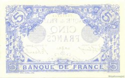 5 Francs BLEU FRANCE  1912 F.02.12 SPL