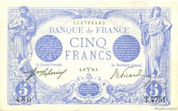5 Francs BLEU FRANCE  1915 F.02.25 SPL