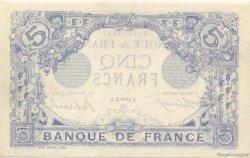 5 Francs BLEU FRANCE  1915 F.02.33 NEUF