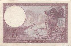 5 Francs VIOLET modifié FRANCE  1939 F.04.09 pr.NEUF
