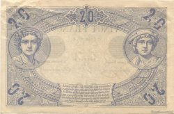 20 Francs NOIR FRANCE  1875 F.09.02 SUP+