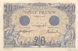 20 Francs BLEU FRANCE  1912 F.10.02 NEUF