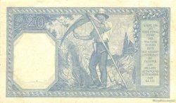 20 Francs BAYARD FRANCE  1916 F.11.01 SPL