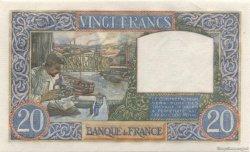 20 Francs SCIENCE ET TRAVAIL FRANCE  1941 F.12.19 NEUF