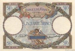 50 Francs LUC OLIVIER MERSON FRANCE  1927 F.15.01 SUP+