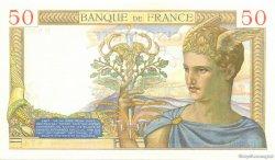 50 Francs CÉRÈS FRANCE  1937 F.17.39 pr.SPL