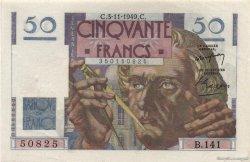 50 Francs LE VERRIER FRANCE  1949 F.20.13 pr.SUP