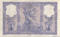100 Francs BLEU ET ROSE FRANCE  1909 F.21.24 pr.TTB