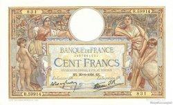 100 Francs LUC OLIVIER MERSON type modifié FRANCE  1938 F.25.24 SUP