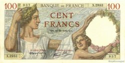 100 Francs SULLY FRANCE  1939 F.26.10 SUP+