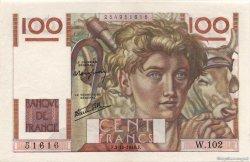 100 Francs JEUNE PAYSAN FRANCE  1946 F.28.09 SPL+