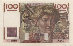 100 Francs JEUNE PAYSAN FRANCE  1950 F.28.26 SPL+