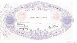 500 Francs BLEU ET ROSE modifié FRANCE  1939 F.31.46 SPL