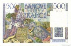 500 Francs CHATEAUBRIAND FRANCE  1953 F.34.13 TB