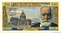 500 Francs VICTOR HUGO FRANCE  1954 F.35.03 SUP