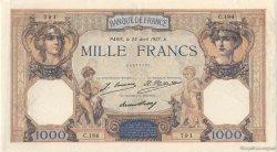 1000 Francs CÉRÈS ET MERCURE FRANCE  1937 F.37.01 SPL