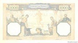 1000 Francs CÉRÈS ET MERCURE type modifié FRANCE  1939 F.38.37 SPL+