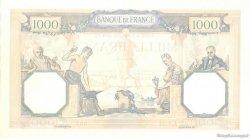 1000 Francs CÉRÈS ET MERCURE type modifié FRANCE  1939 F.38.38 SPL
