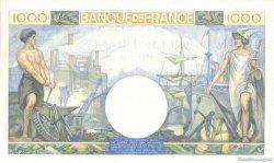 1000 Francs COMMERCE ET INDUSTRIE FRANCE  1940 F.39.03 SUP+