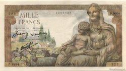 1000 Francs DÉESSE DÉMÉTER FRANCE  1943 F.40.40 pr.NEUF