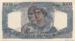 1000 Francs MINERVE ET HERCULE FRANCE  1945 F.41.06 NEUF