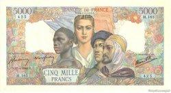 5000 Francs EMPIRE FRANCAIS FRANCE  1944 F.47.07 SUP+