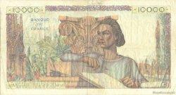 10000 Francs GÉNIE FRANÇAIS FRANCE  1945 F.50.01 pr.TTB